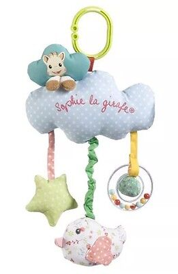 Vulli Sophie the giraffe My musical box cot carseat buggy toy - UK SELLER