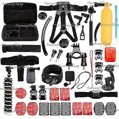 50-in-1 Outdoor Sport Camera Accessory Kit for GoPro Hero 4/3/2/1 & More