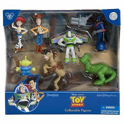 Disney Parks Pixar Toy Story Woody Figure Playset - New With Box