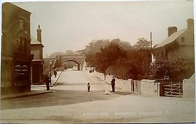 Station Road, Mansfield Woodhouse, Nottinghamshire, c.1910