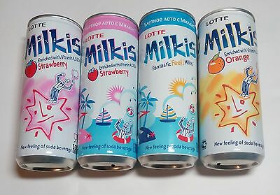 Milkis soda beverage coke set of 4 cans 250 ml from Russia 2016