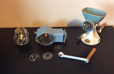 Vintage Spong & Co Mincer with Attachments.