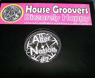 """House Groovers 'Bizzarely Happy' 12"""" SOSUMI SCOUSE HOUS"""