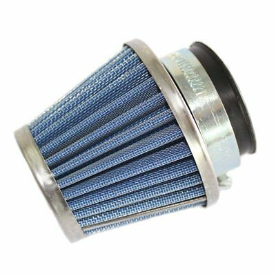 Universal Air Filter Blue 38mm Straight Cone