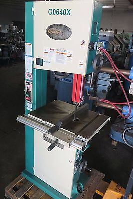 "Grizzly G0640X 17"" Metal/Wood Bandsaw"