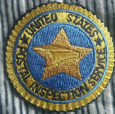 United States Postal Inspection Service Patch Inspector Federal Usps Police Read