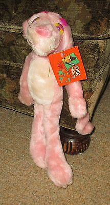 """PINK PANTHER 12"""" Cartoon Plush Kelly Toy 1999 - NEW WITH TAGS !"""