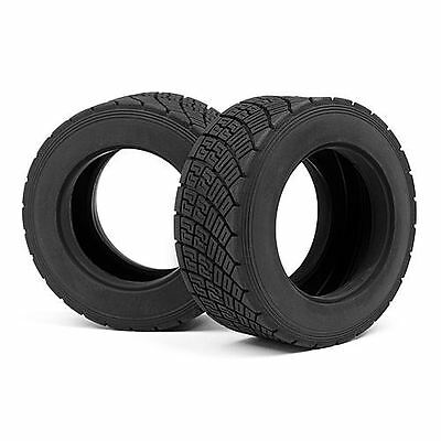 HPI WR8 Rally Off Road Tyre Red Compound (2Pcs) - 107977