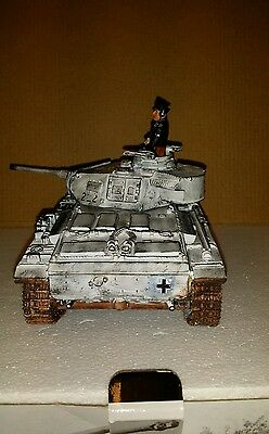 King and country ( WS134 ) Repainted Waffen SS Panzer III with the long 50mm gun