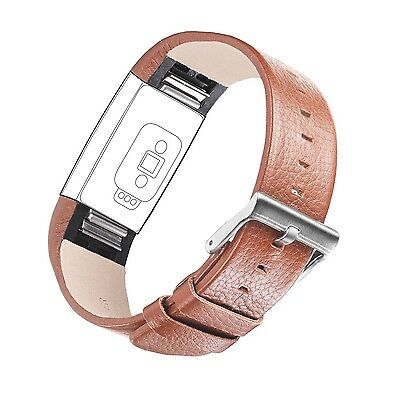 For Fitbit Charge 2 DigiHero Leather Replacement Band for Fitbit Charge 2 Ban...