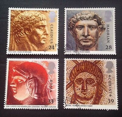 COMMONWEALTH - GB 1993 ROMAN BRITAIN  Set (4) Used Stamps