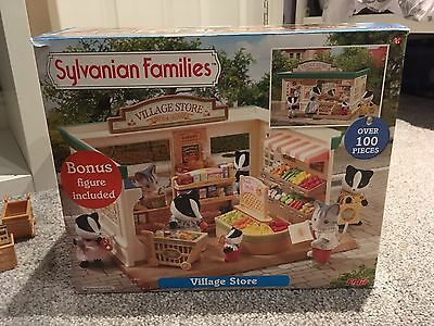 Sylvanian Families Village Store Figures and Accessories - Boxed