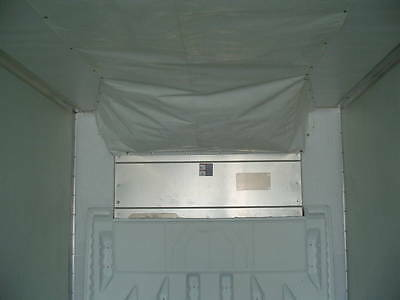 Universal Nylon Air Chute for 53' THERMO KING & CARRIER TRANSICOLD UNITS/ white