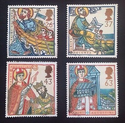 COMMONWEALTH - GB 1997 RELIGIOUS ANNIVERSARY Set (4) Used Stamps