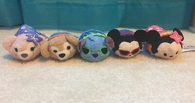 NWT IN-HAND Complete Set of 5 Disney Hawaii Aulani Resort Exclusive FAST SHIP