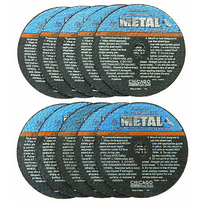 NEW 10 pc. 3 In. Thin Cut-Off Wheels For Metal