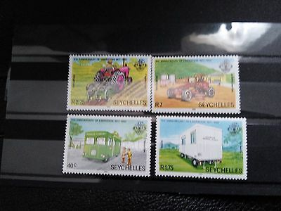 Timbres Seychelles 1982 Neufs ** MNH Set Complet