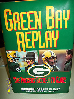 Green Bay Replay hardcover book.  The Packers' Return To Glory.