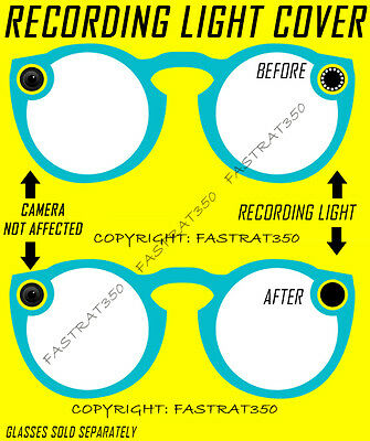 Snapchat Spectacles Recording Light Covers Kit