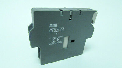 ABB CCL5-01 Contactor Auxiliary Contact Block w/ Varistor (Lot of 15)