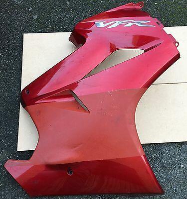 HONDA VFR800 A-6 VTEC 2008 ORIGINAL FRONT RIGHT SIDE PANEL FAIRING COWL, genuine