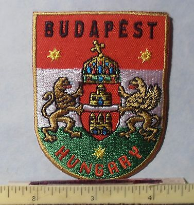 PATCH ~ BUDAPEST, HUNGARY ~ Coat of Arms