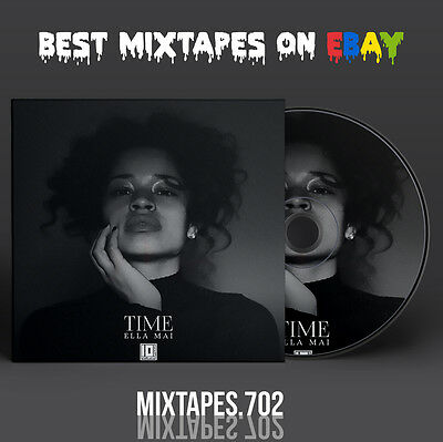 Ella Mai - Time EP Mixtape (Artwork CD/Front/Back Cover) Ty Dolla