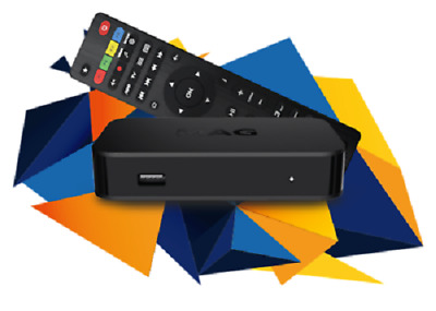 MAG 322 323 Original IPTV/OTT Box New model of mag 256 + Free patch & HDMI cable