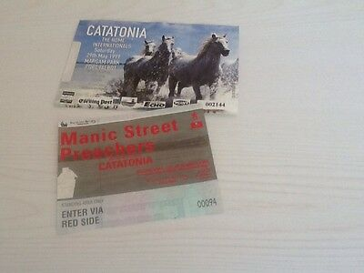MANIC STREET PREACHERS with special guests CATATONIA used ticket