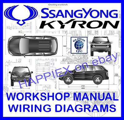 Ssangyong Kyron Workshop Service Repair Manual & Wiring Diagrams