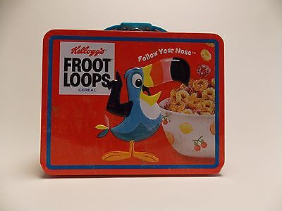 Kellogg's Froot Loop Cereal Lunch Box Tin
