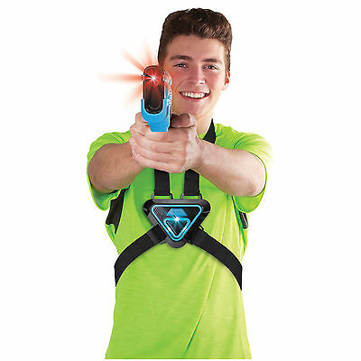 Laser Tag Game Equipment Guns For Kids And Vests Home Two-Player Set Electronic