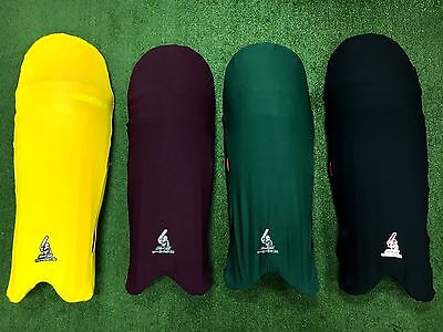 Black Ash Cricket batting Pads Leguards Cover clads
