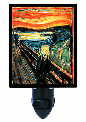 Night Light - The Scream - Edward Munch - Old Masters Painting