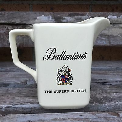 VINTAGE WADE ENGLAND BALLANTINES SCOTCH WHISKY JUG PITCHER Excellent!!