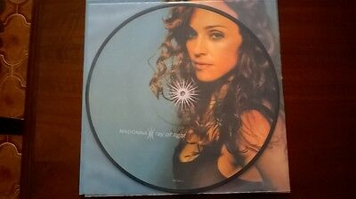 Madonna Ray of Light LP US 9362-46847-3 PICTURE DISC Unofficial Limited Rebel