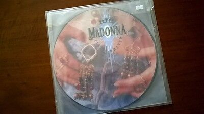"Madonna Like A Prayer 12"" EU PICTURE DISC 25844P Unofficial Rebel Heart"