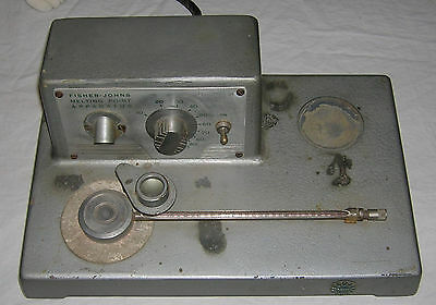 Lab Tools - Fisher Johns Melting Point Apparatus