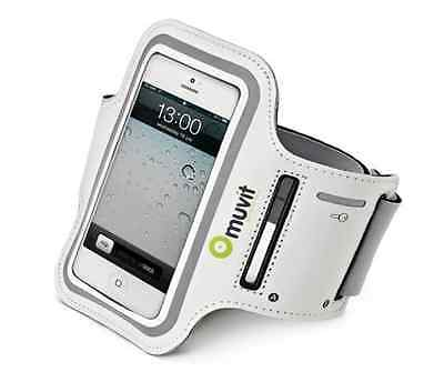 Muvit Ultra Thin Armband Apple Iphone 4, 5/5s, Ipod Touch XL Smartphones WHITE