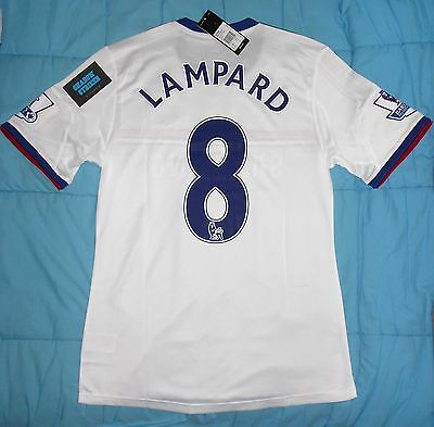 Maillot football shirt player issue Chelsea away Adidas 13/14 Lampard neuf/BNWT