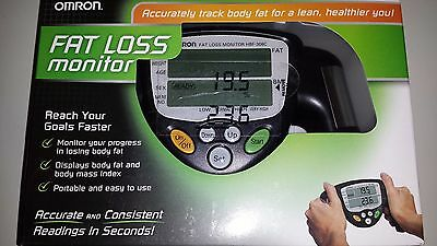 Omron Fat Loss Monitor, hand held design, new in box, ideal for personal trainer