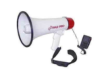 Professional Megaphone Bullhorn with Siren And Handheld Microphone New