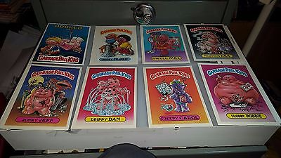 1986 Garbage Paid Kids Gpk Jumbo Cards 5 X 7 Lot Of 8 Cards   Lot#7