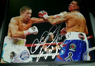 Gennady Golovkin GGG autographed 11x14 photo  SFV-AUTOGRAPHS with picture proof