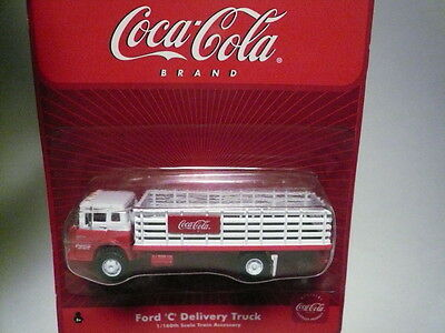 """Athearn """"N"""" Coca-Cola Ford 'C' Delivery Stake Bed 1:160 (Issue Read)- FAST SHIP"""