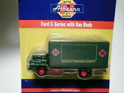 """Athearn """"N"""" REA Ford 'C' Delivery Box Truck 1:160 (2 PHOTOS)- FAST SHIP"""