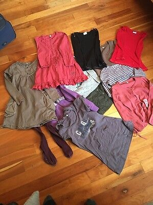 Large Bundle Of Girl's Clothes -  Captain Tortue, Mayoral And Next  Age 6 Years