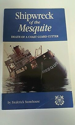"""Great Lakes Book """"SHIPWRECK OF THE MESQUITE"""" Fred Stonehouse Softcover, 1991"""