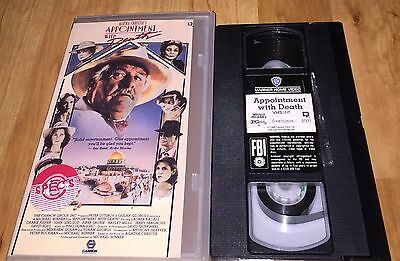 Appointment With Death (VHS, 1988) Agatha Christie Peter Ustinov HTF-Cannon