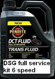 Audi VW DSG fluid 6 Speed DSG service kit. Fluid, Filter, Seal and washer